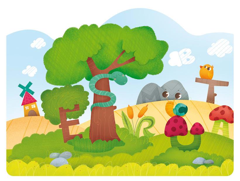 Editorial Teide. Proyecto Minitribu. Ilustración infantil 9