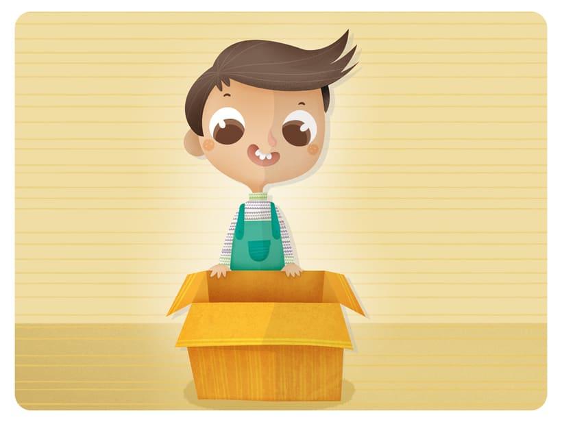 Editorial Teide. Proyecto Minitribu. Ilustración infantil 10