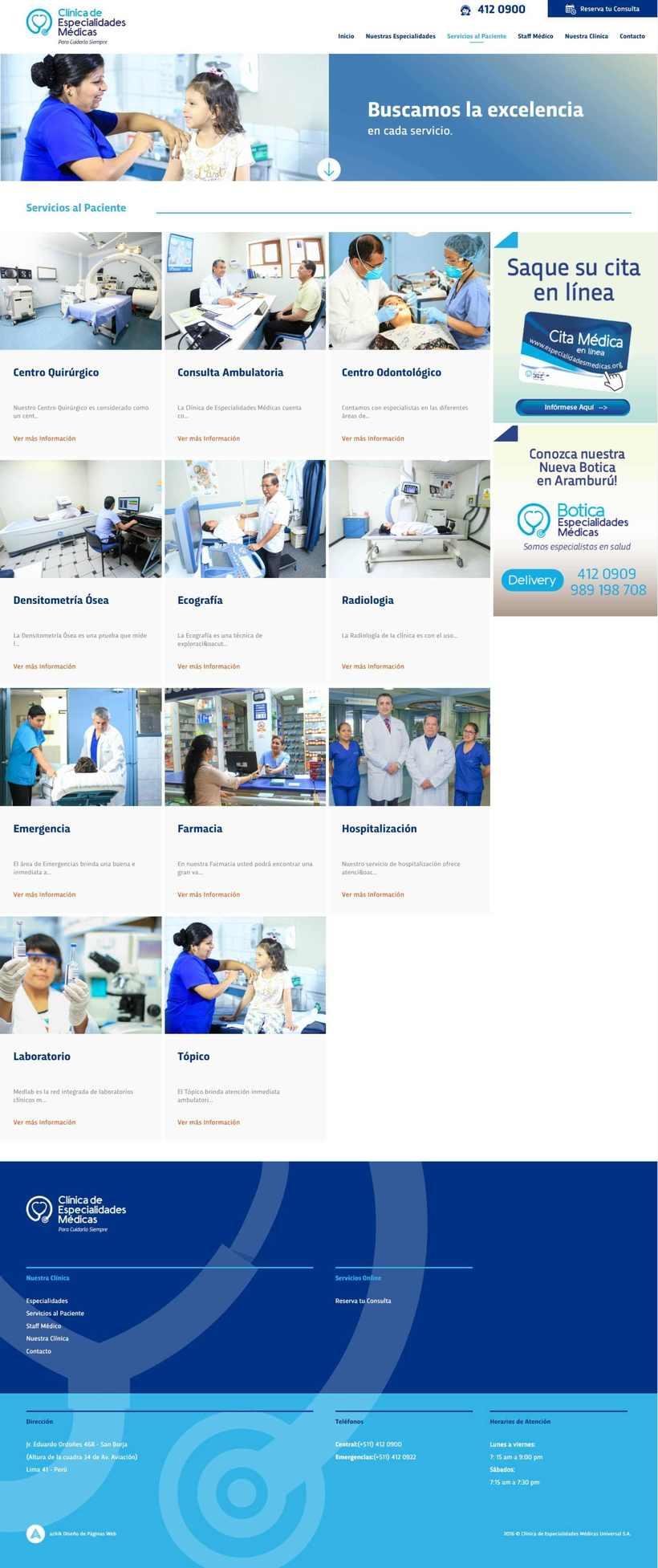 Clínica Especialidades Médicas 2