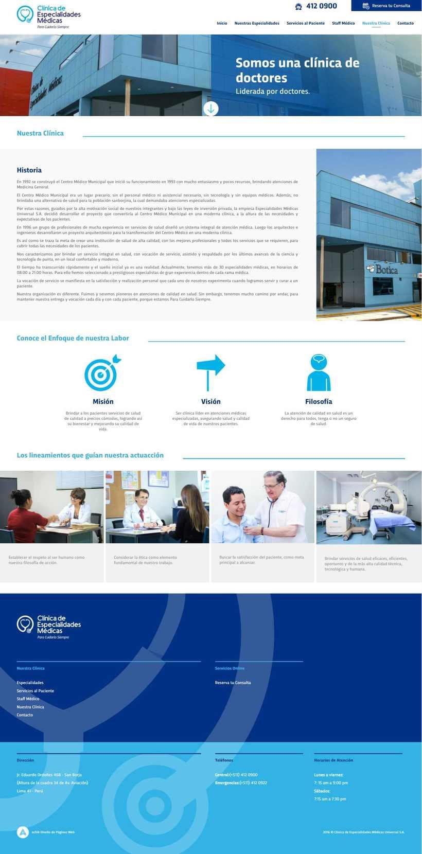 Clínica Especialidades Médicas 4