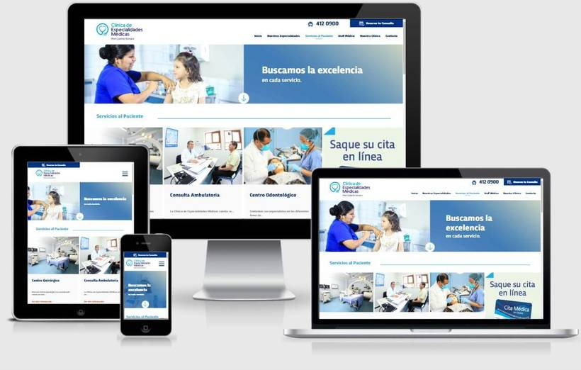 Clínica Especialidades Médicas 8