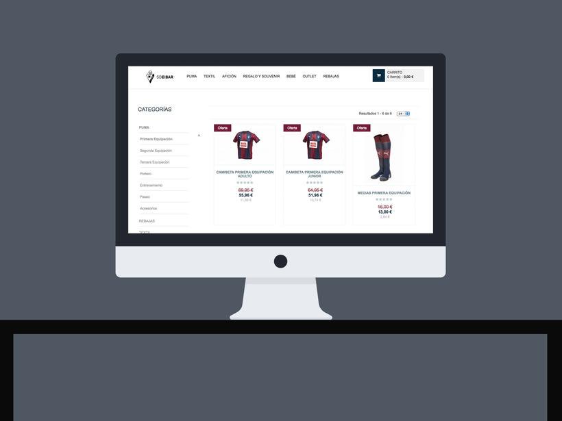 SD Eibar - Diseño web 1