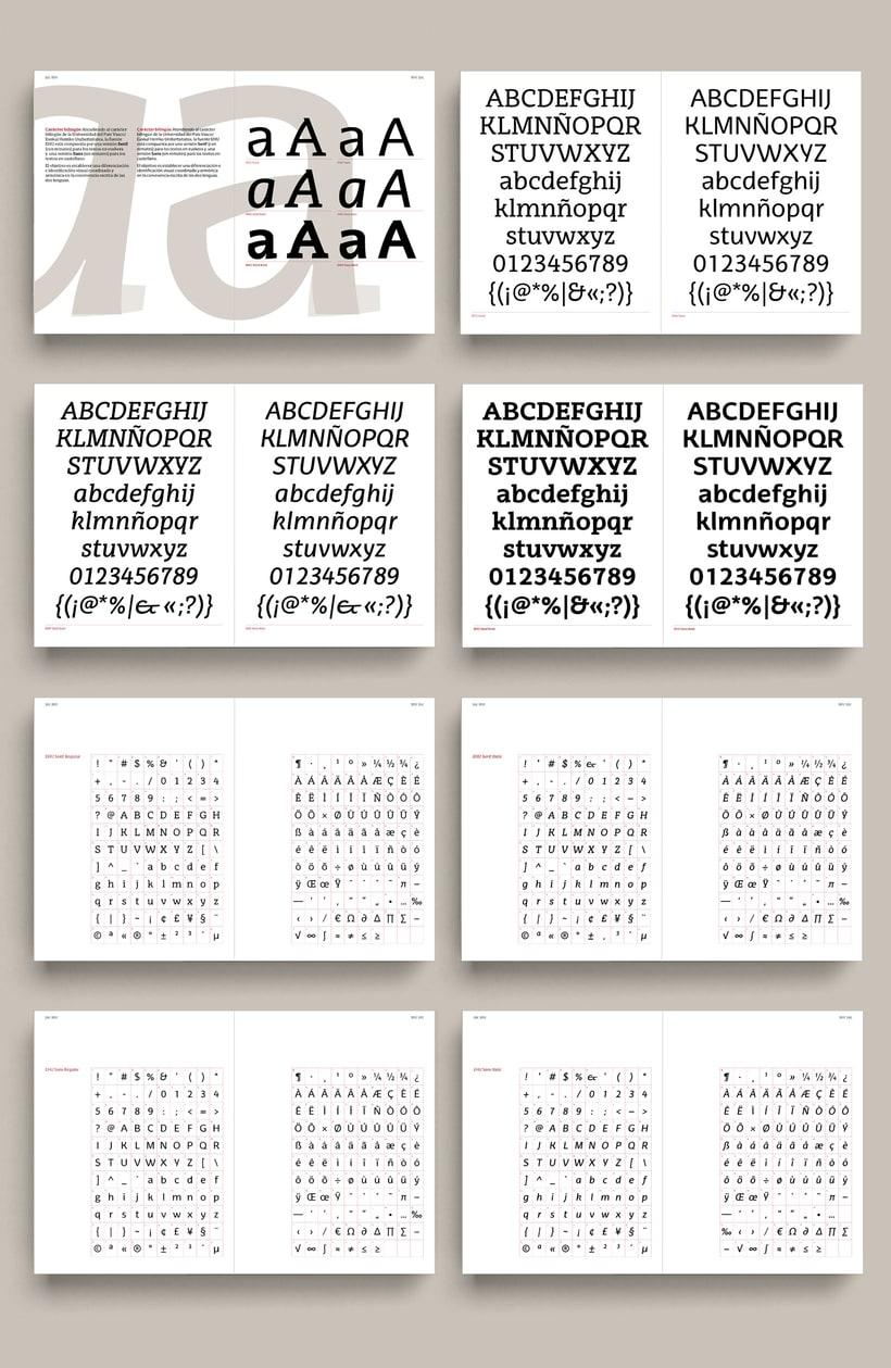 Libro «EHU Tipografía corporativa»  2