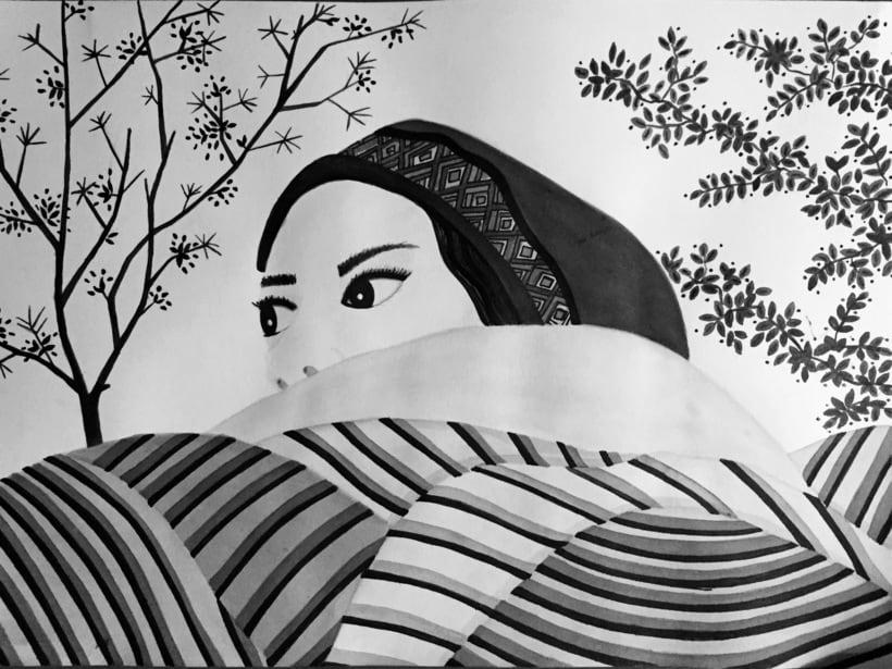 Mi Proyecto del curso: Introducción a la ilustración con tinta china 1