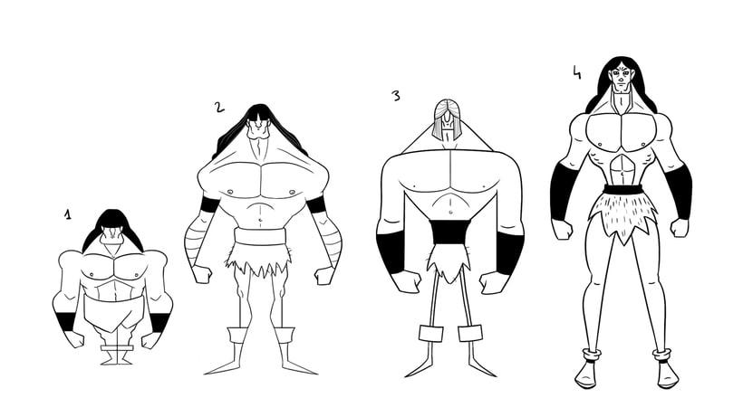 Character design. Conan 1