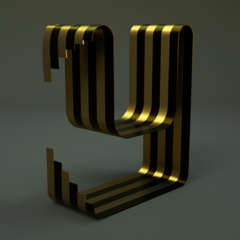 Mi Proyecto del curso: Lettering 3D: modelado y texturizado con Cinema 4D 8