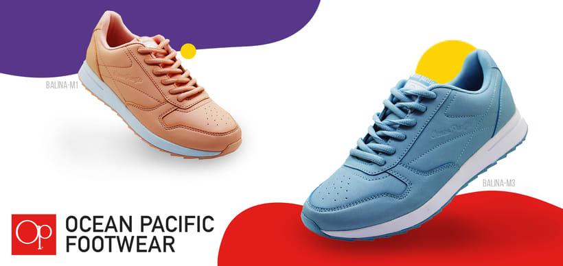 Live in Colors - Ocean Pacific Footwear 1