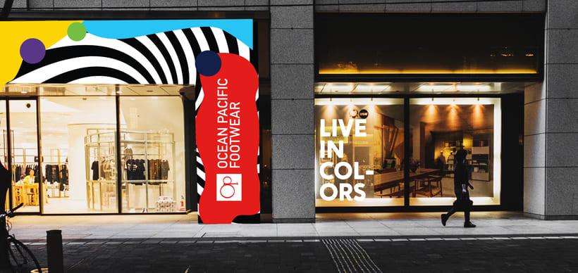Live in Colors - Ocean Pacific Footwear 4