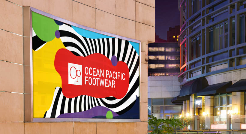 Live in Colors - Ocean Pacific Footwear 11