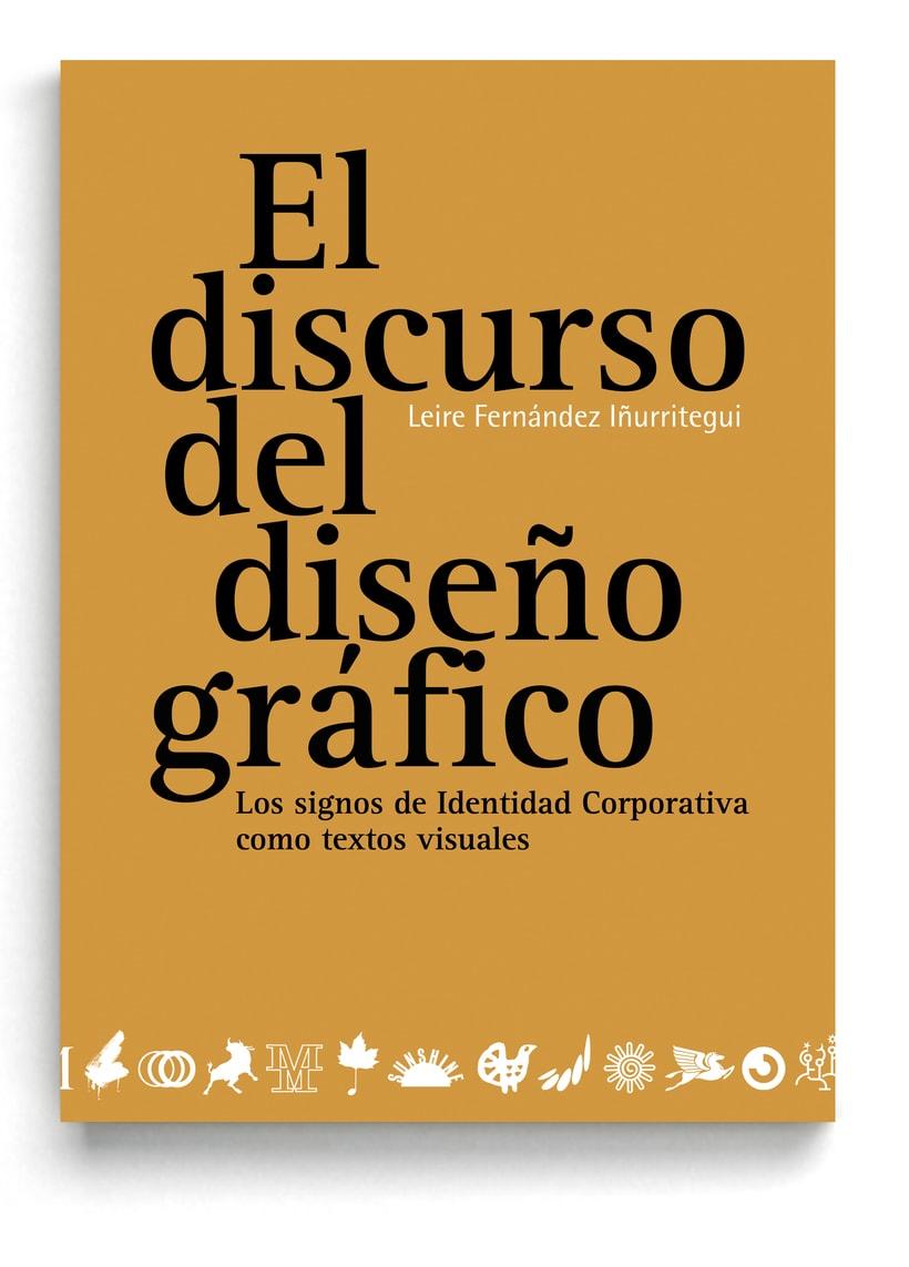 Libro «El discurso del diseño gráfico»  0