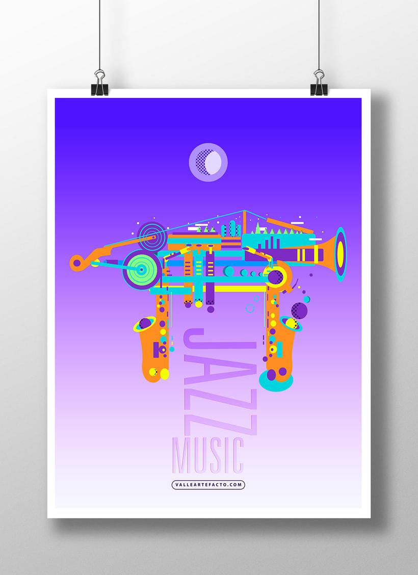 Jazz Music Poster 1