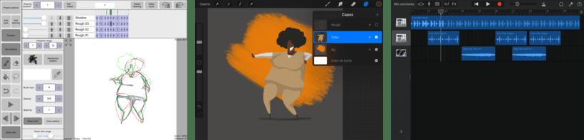 Taystee. Animación desde el iPad 2