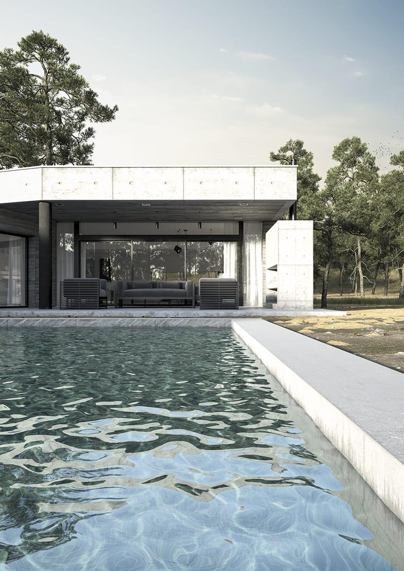Casa en Cañuelas - Renders exteriores 0