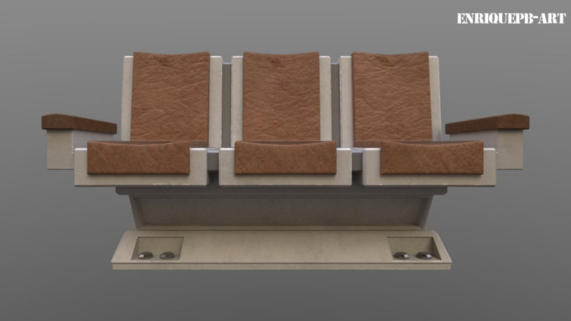 Scifi Space Station Sofa 2