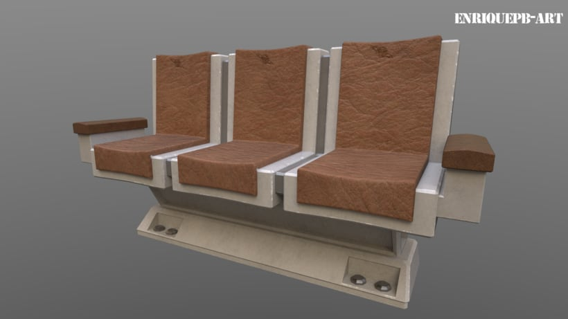 Scifi Space Station Sofa 3