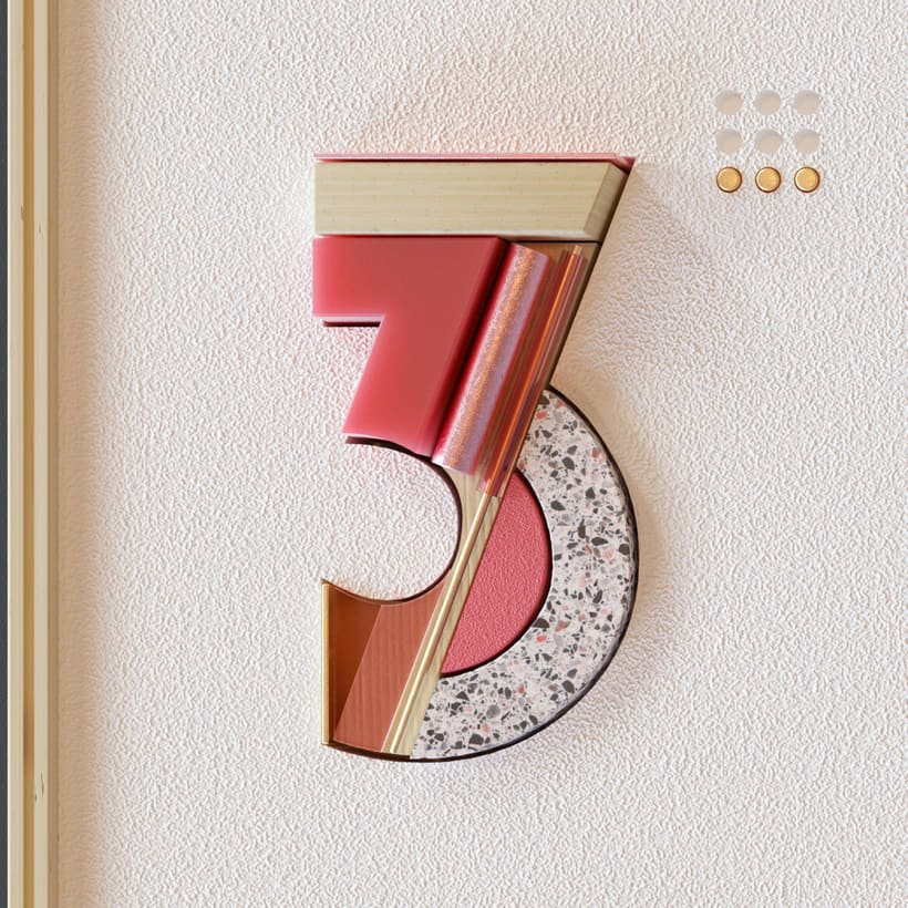 36 Days of Type Números 5