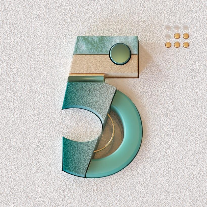 36 Days of Type Números 7