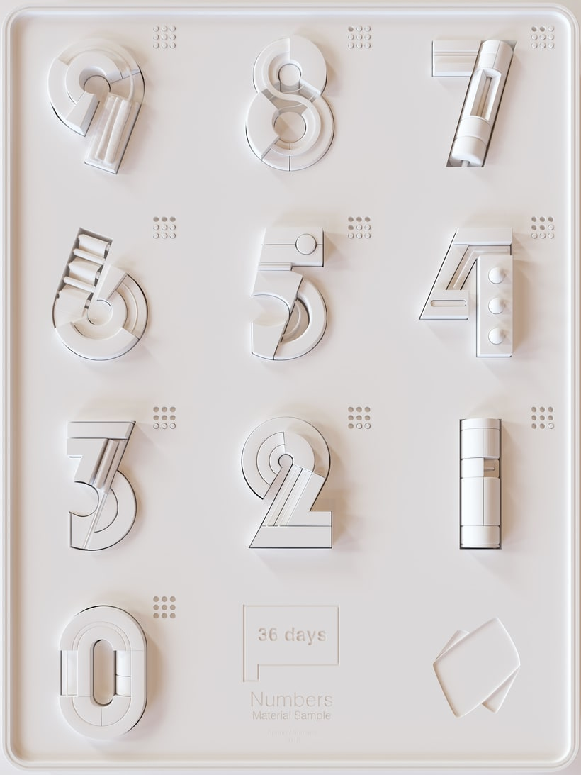 36 Days of Type Números 12