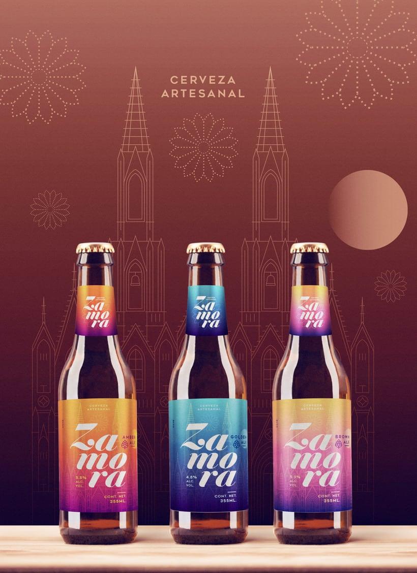 Cerveza Artesanal Zamora 2