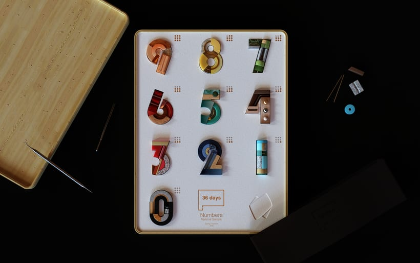 36 Days of Type Números 1