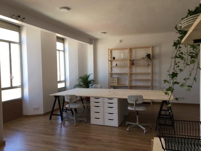 Alquiler de mesas de trabajo en nuevo estudio en Barcelona 2