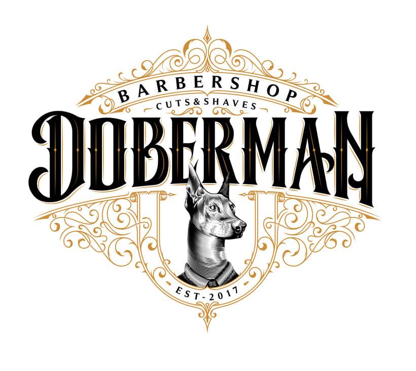 Doberman Barbershop -1