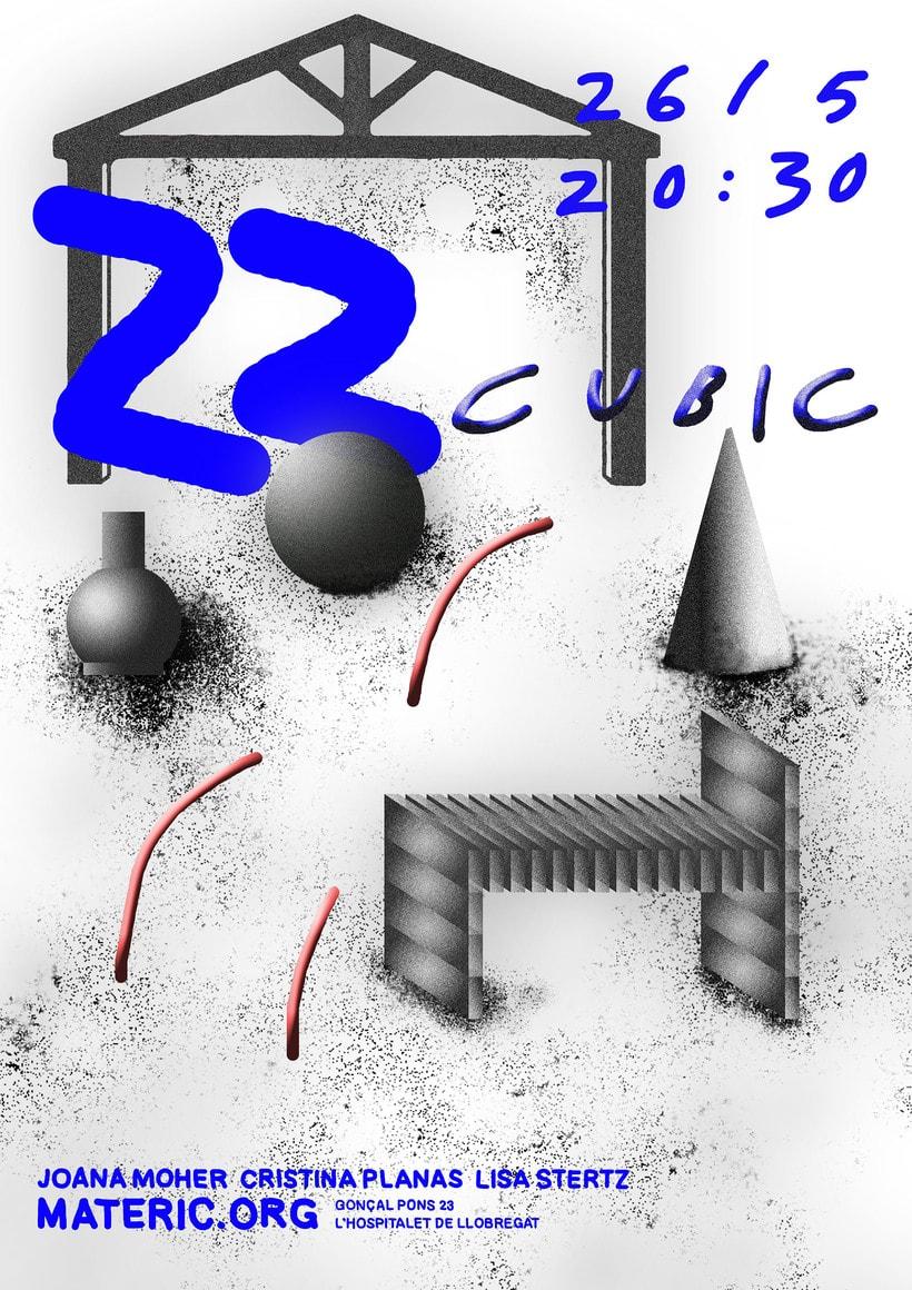 inauguración de las obras - obra de la residencia artística  22 cubic ESPACIO / OBJETO / CUERPO 0