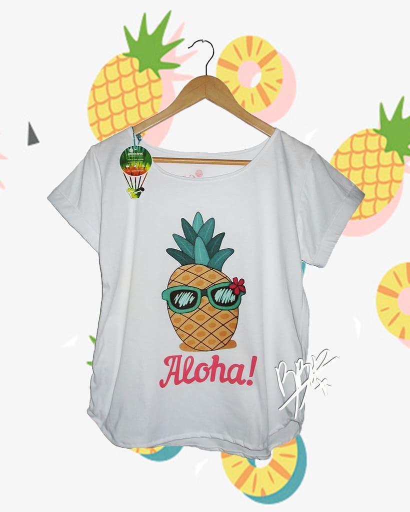Franelas de Frutas Tropicales, Nueva colección.. 10