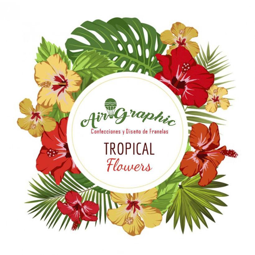 Franelas de Frutas Tropicales, Nueva colección.. 0