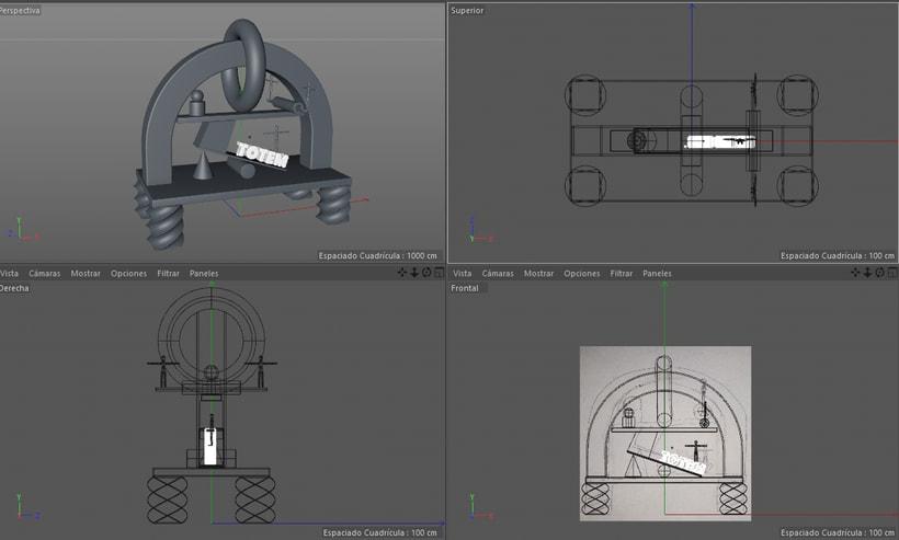 Mi Proyecto del curso: Introducción exprés al 3D: de cero a render con Cinema 4D 2