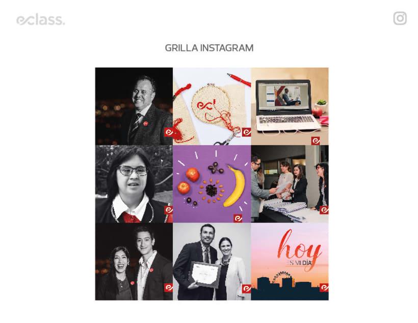 Instagram para empresa de estudios online: eClass 5