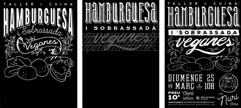 Carteles de lettering e Ilustración 5