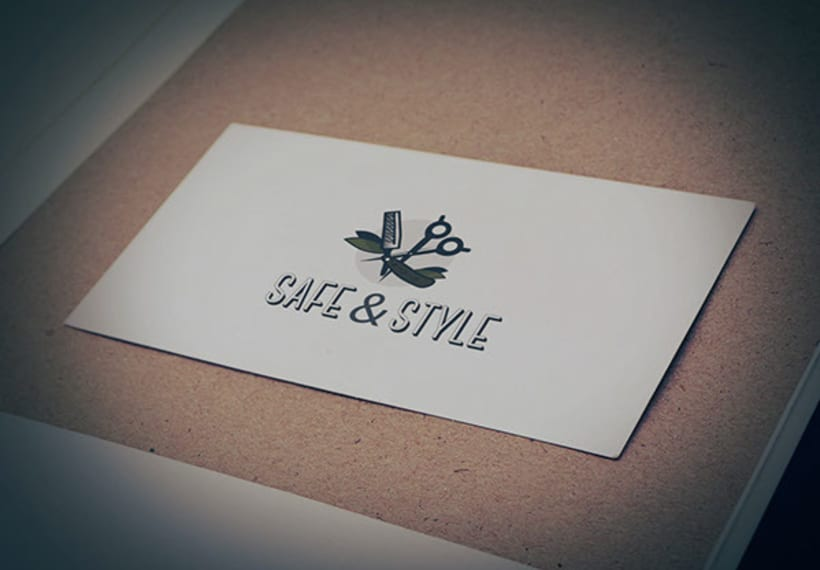 Logotipo Shave&Style 7