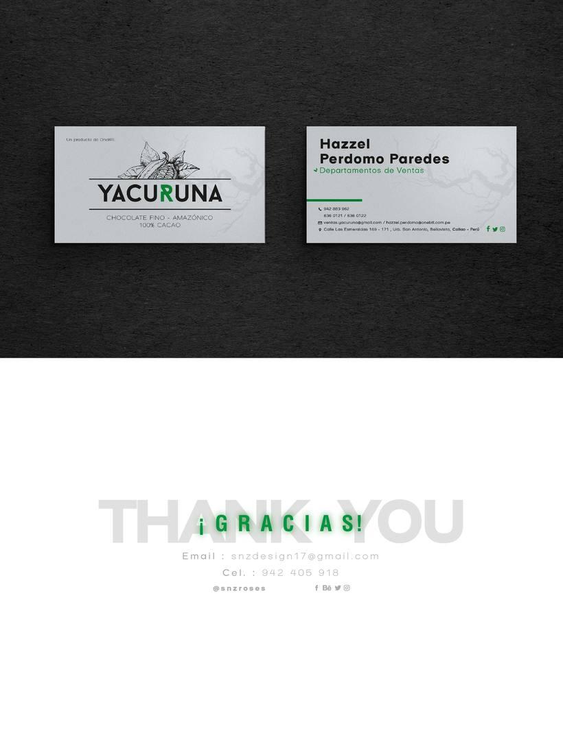 YACURUNA · Chocolate Bar 6