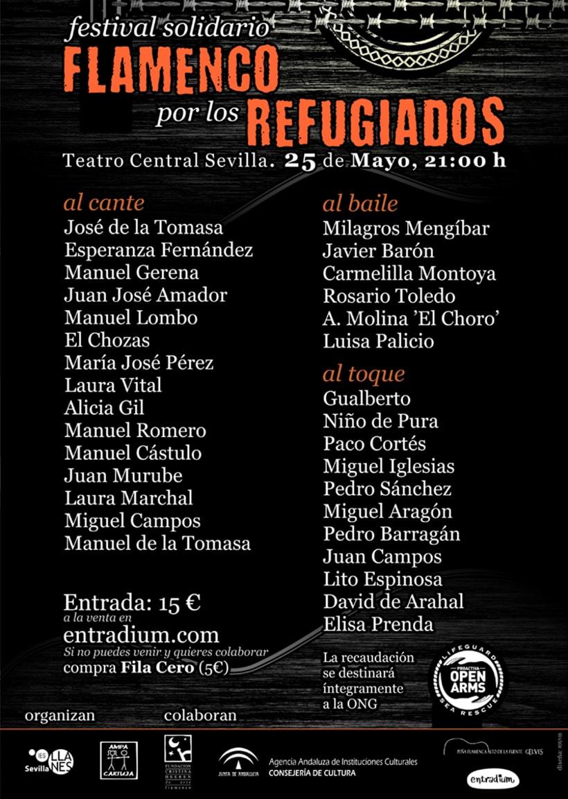 Flamenco por los Refugiados 3