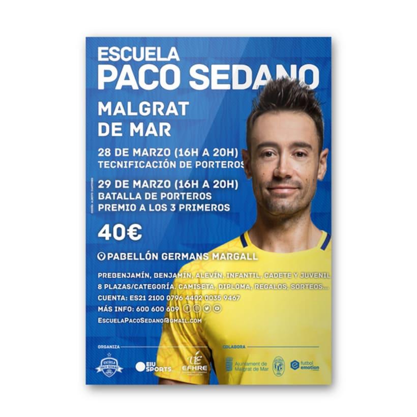 Carteles Escuela Paco Sedano 1