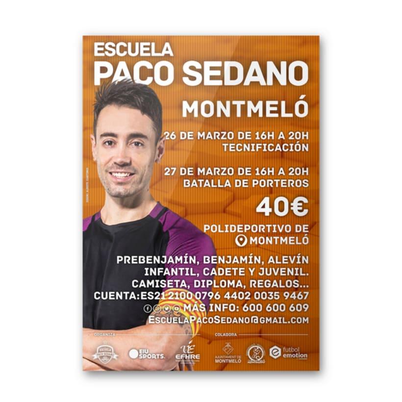Carteles Escuela Paco Sedano 2