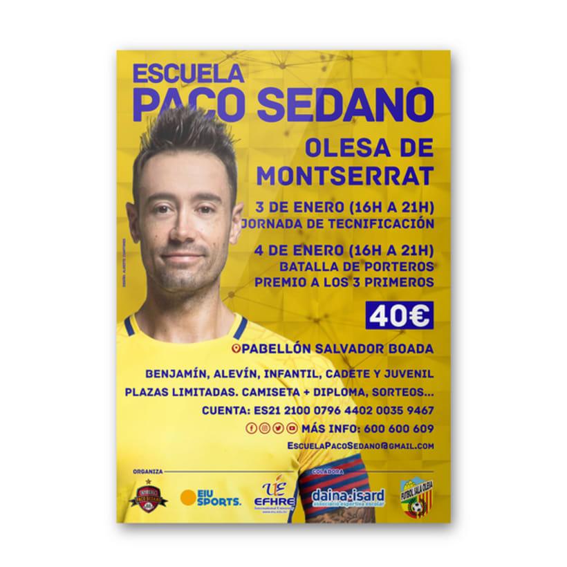 Carteles Escuela Paco Sedano 0