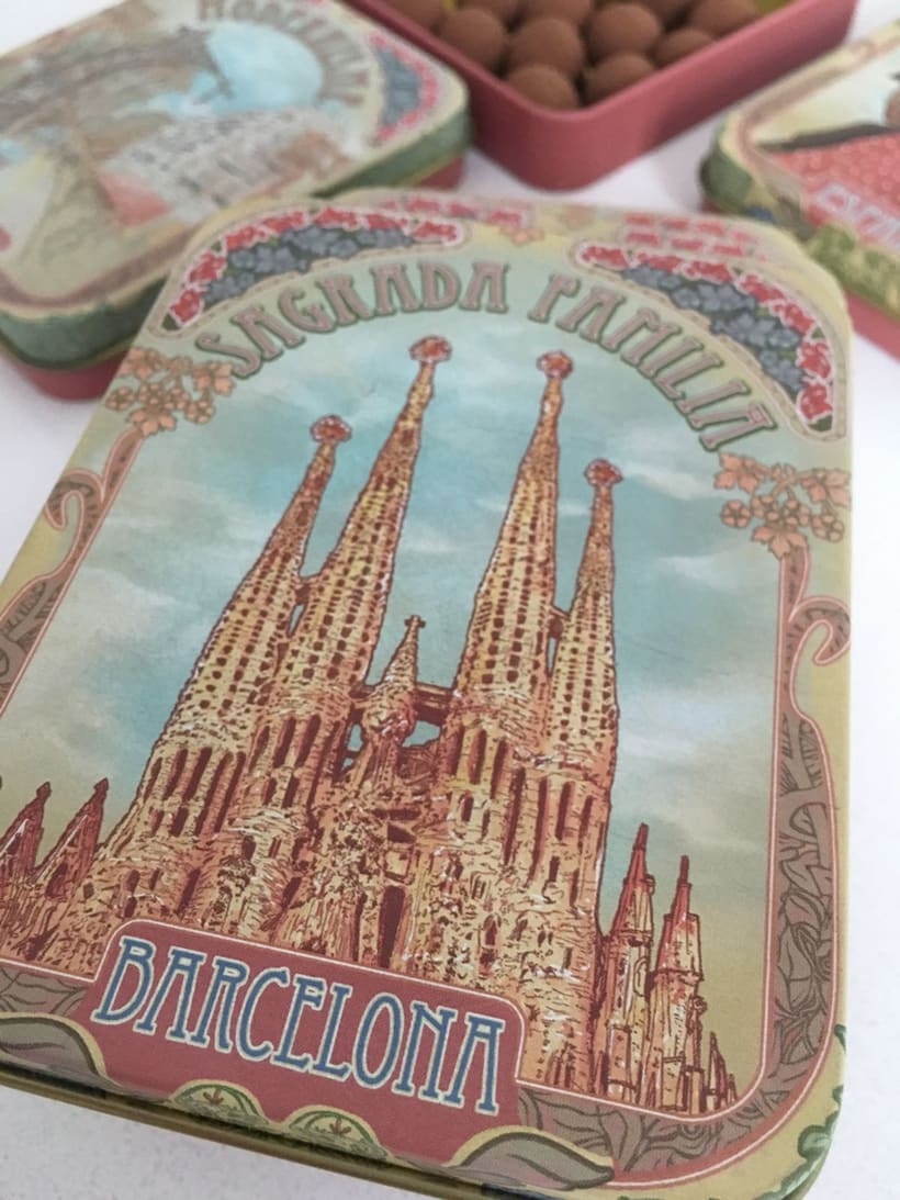 Colección de petacas metálicas vintage. Dgdegsuta (Balcam Diagonal)  1