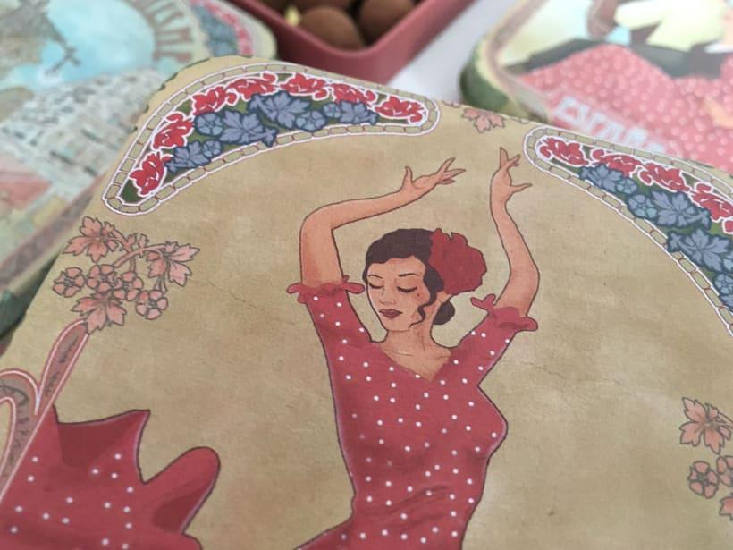 Colección de petacas metálicas vintage. Dgdegsuta (Balcam Diagonal)  4