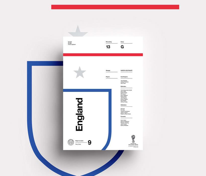 Carteles minimalistas para el Mundial de Rusia 2018 8