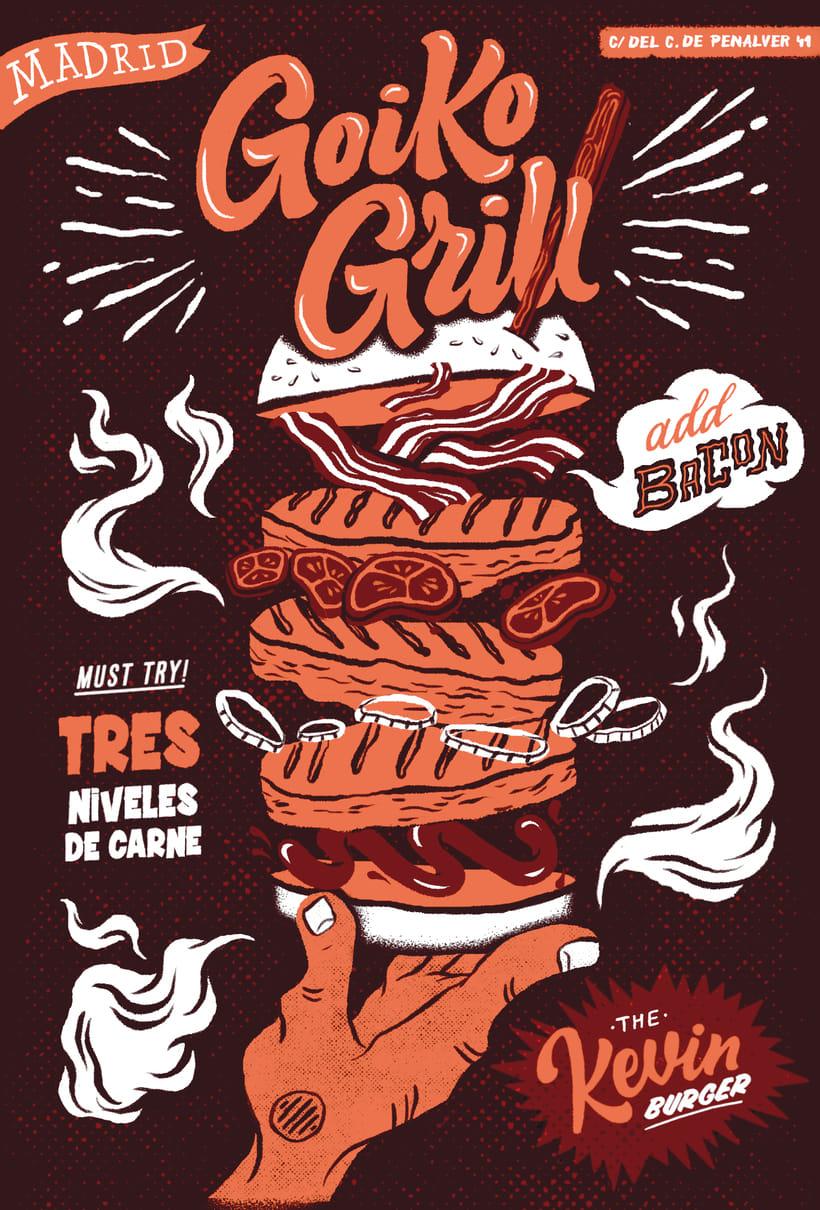 Goiko Grill Poster 4