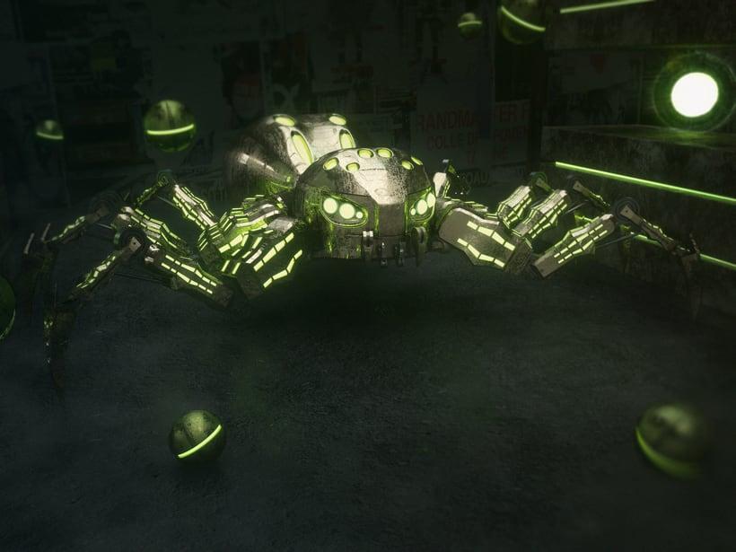 Mi Proyecto del curso: Metal Spider 0