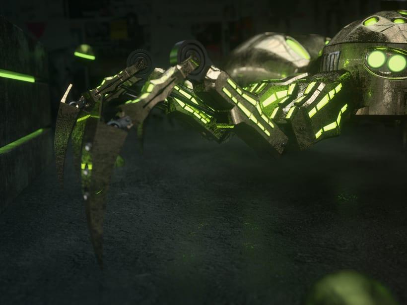 Mi Proyecto del curso: Metal Spider 1
