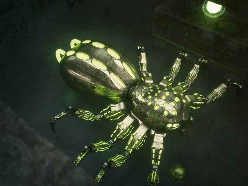 Mi Proyecto del curso: Metal Spider 2