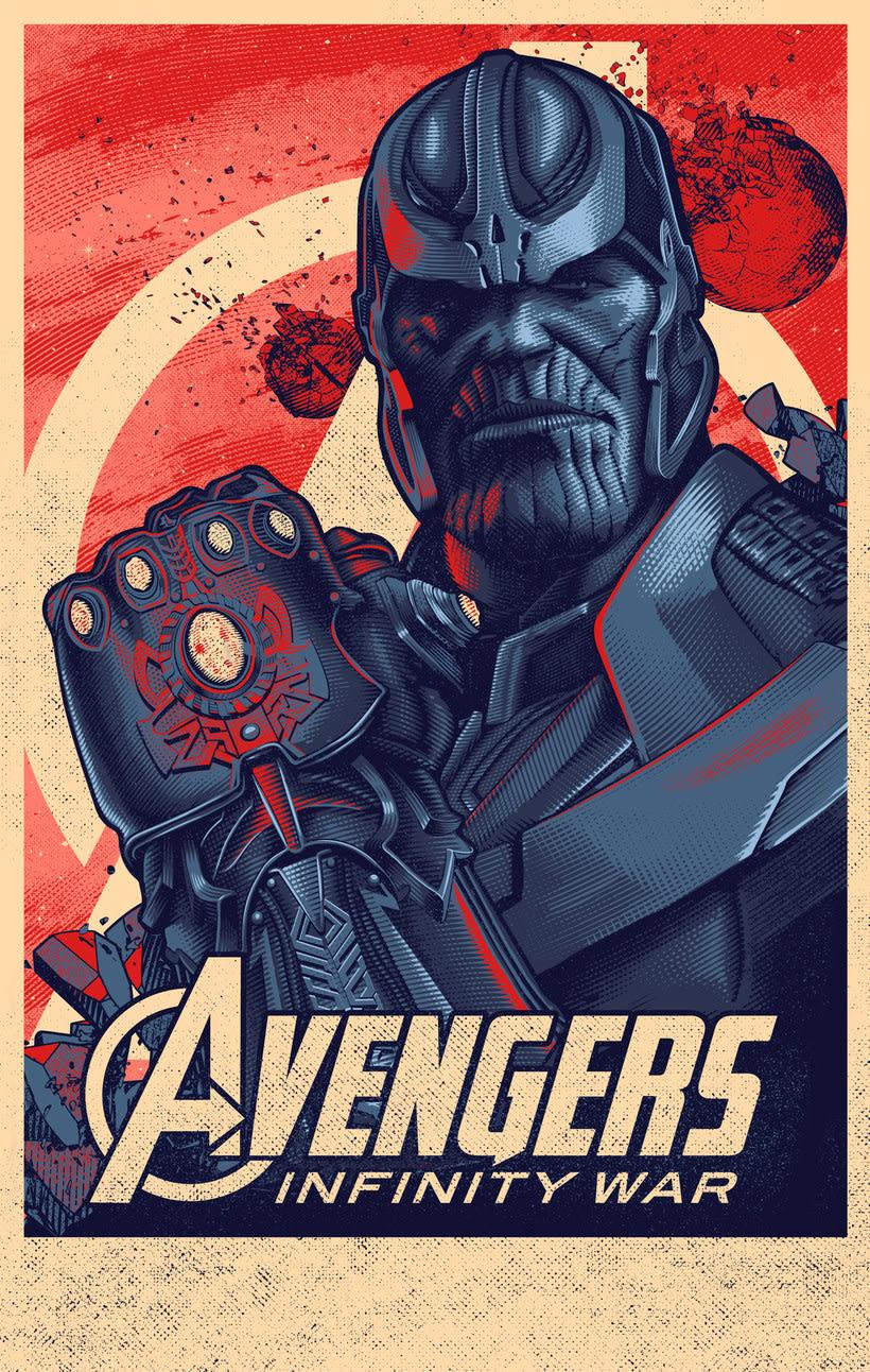 Thanos print. 0