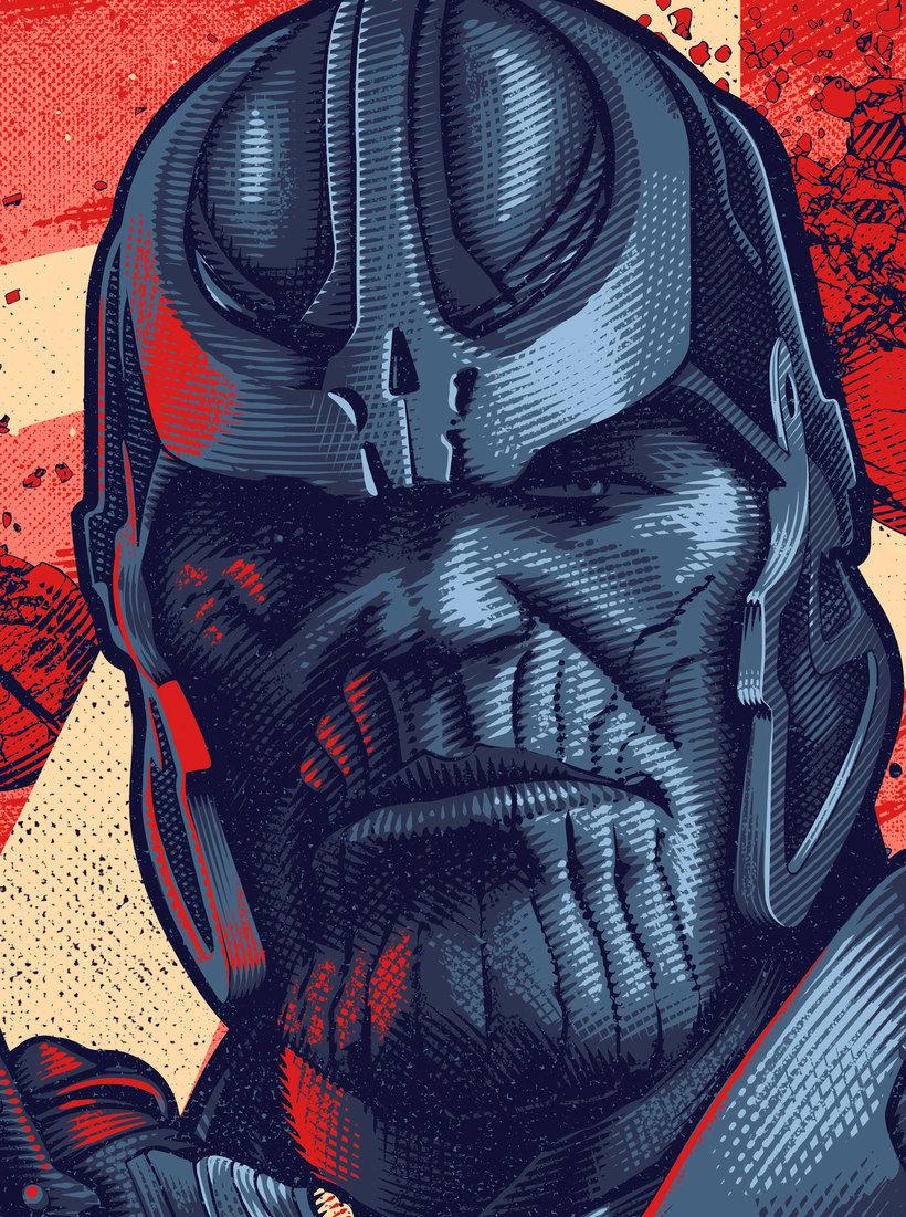 Thanos print. 2