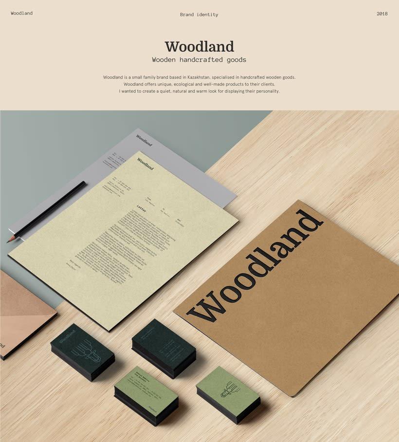 Woodland branding 0