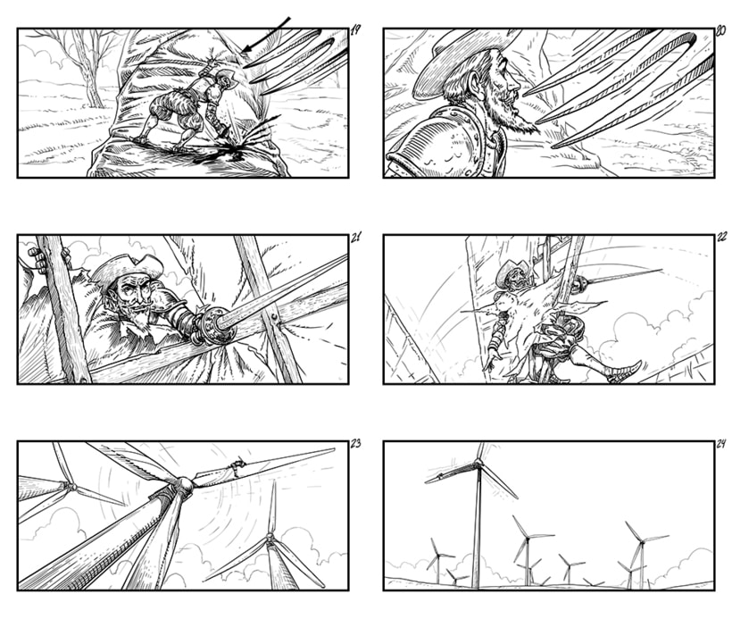 The Man Who Killed Don Quixote - Storyboards 5