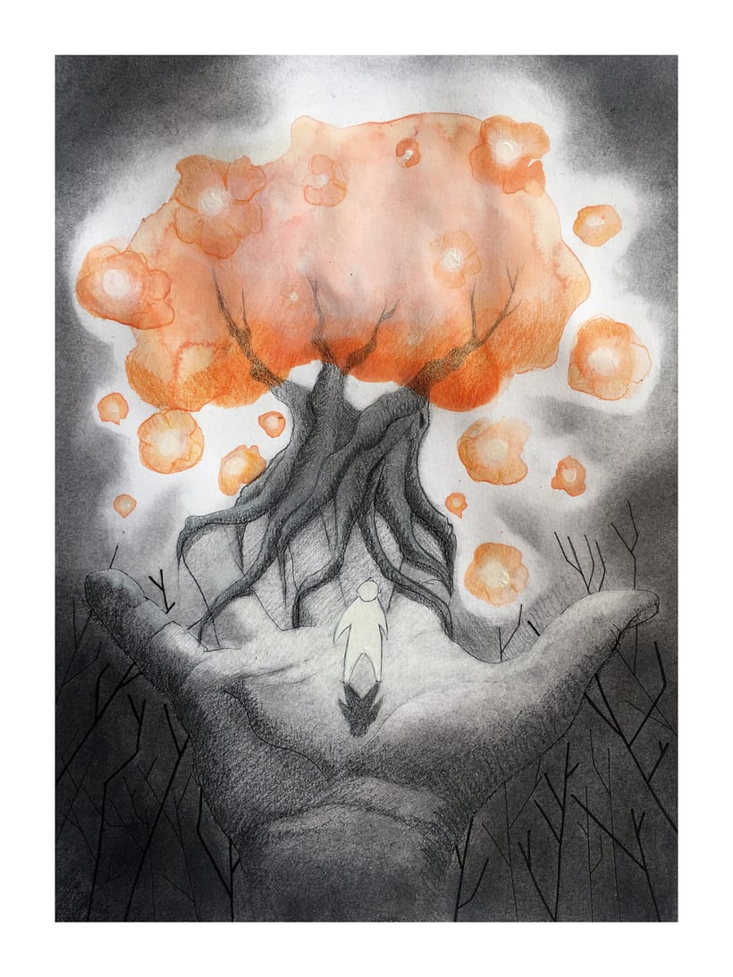 """""""El gigante egoísta"""" Mi Proyecto del curso: Introducción a la psicología del color: la narrativa cromática 2"""